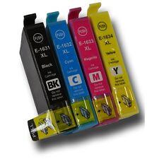 4 Compatibles 16XL  WF-2010W WF-2520NF WF-2530 E1631 E1632 E1633 E1634 T1636
