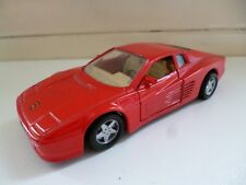 Ferrari 512TR - Red - Shell - Maisto - 1/39 - China
