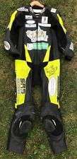KYLE RYDE RACE WORN AND SIGNED LEATHERS BRITISH SUPERBIKES BSB, MOTOGP.