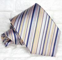 Cravatta uomo grigio classica  100% seta   Made in Italy SETA RP€ 39