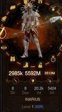 Diablo 3 Ps4 Legit Primal Ancient Grace Of Inarius Necromancer Complete Build