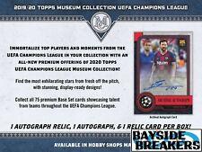 LIVERPOOL FC 2019-20 Topps UEFA Champs League Soccer Full Case (12 Box) Break #1