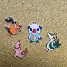 Lots Mix Pokemon Pikachu Metal Charms Jewelry Making DIY Pendants Earrings JT396