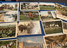 "1900's-20's WESTERN/NATIVE AMERICAN POSTCARD LOT OF 15~""IRON TAIL""~MILLER BROS.+"