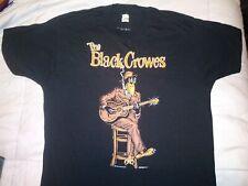 Vintage 1990 The Black Crowes T Shirt Rock Band Concert Tour Tee Xl Blues is Bld