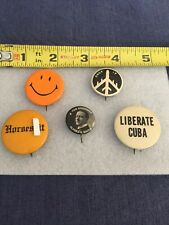Pinbacks from the '60s and older