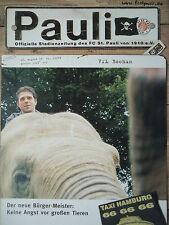 Programm 1999/00 FC St. Pauli - VfL Bochum