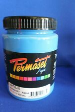 PERMASET SCREEN PRINTING FABRIC INK STANDARD LIGHT BLUE 300ML