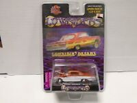 Racing Champions Lowriders 60 Chevy Impala Issue #9 Orange & White 050319AMCAR2