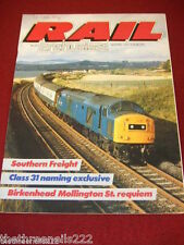 RAIL ENTHUSIAST #55 - SOUTHERN FREIGHT - APRIL 1986
