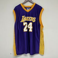 Los Angeles Lakers Kobe Bryant XL Purple Shirt Jersey