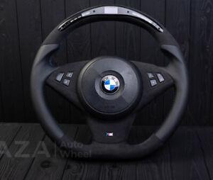 BMW E60 M5 E63 E64 M6 LED Performance digital custom steering alcanatara SMG