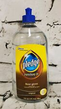 Pledge 11182 Revive It Floor Gloss Clear Transparent Liquid Original Scent 27 Oz