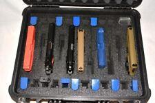 11 pistol handgun gun + 22 mags +1500D foam insert kit fit your Hprc 2600 case