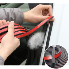 """196"""" Rubber Car Door Trunk Lid Seal Strip B-type Closed Insulation w/ Air Holes"""