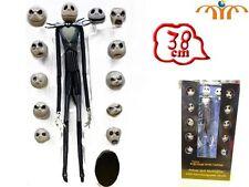 Figurine Jack Skeleton heads interchangeable nightmare before Christmas