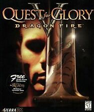 Quest for Glory V 5: Dragon Fire - MAC/PC Big Box