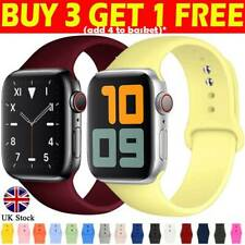 For Apple Watch iWatch Series 5/4/3/2/1 Silicone Sport Strap Band 38/40/42/44mm