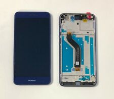 Huawei P8 LITE 2017 PRA-LX1 Touch Digitizer LCD Screen Assembly With Frame Blue