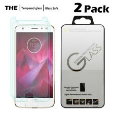 [2-Pack] 9H Tempered Glass Screen Protector Saver For Motorola Moto Z2 Force