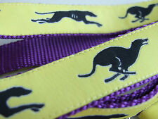 GREYHOUND BREED SPECIFIC DESIGN DOG COLLARS or LEADS LEASH or MARTINGALE