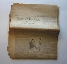 KANSAS CITY STAR NEWSPAPER SERIAL ROSE O' THE SEA 1922 BASIS SILENT MOVIE