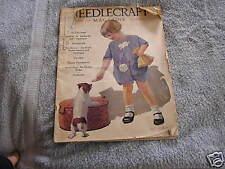 Needlecraft Magazine March 1928 Art Deco