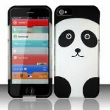 Panda Bear Snap Cover Case for Apple iPhone 5 Cell Phone Hard Plastic Matte