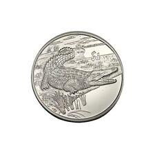 elf  Sierra Leone 1 Dollar 2005  Crocodile