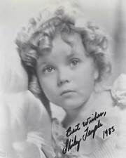 Shirley Temple Signed Reprint 8x10 Photo 004
