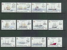 BRITISH ANTARCTIC TERR-SG461-472-EXPLORERS &SHIPS-MNH