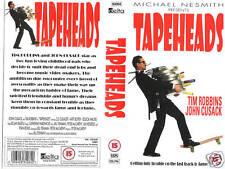 TAPEHEADS VHS PAL JOHN CUSACK,TIM ROBBINS,DOUG McCLURE,JESSICA WALTER NEW