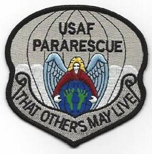 USAF PARARESCUE JUMPER Air Force THAT OTHERS MAY LIVE Hook Loop Military Patch