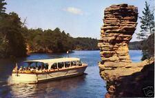 Chimney Rock, Wisconsin Dells, WI. postcard