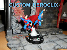 CUSTOM Heroclix SUPERMAN AND SUPERMAN Convention #D-004 Figure