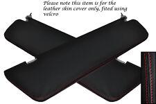 Rojo Stitch encaja Mercedes Vito W639 04-11 2x reposacabezas cubre no Espejo Modelos