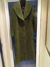 Clariscia Gill Wool Winter Coat Size UK 18