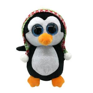 TY Beanie Boos XXL Extra Large 25in (63cms) Penelope Penguin Xmas Glitter Eyes