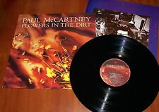 PAUL McCARTNEY FLOWERS IN THE DIRT LP *RARE* GREEK 1st PRESS VINYL 1989 Beatles