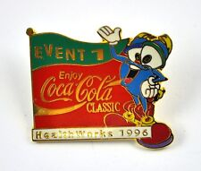COCA-COLA COKE EE.UU. Solapa Pin PIN BADGE Broche - Event 1 Health WORKS
