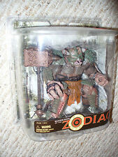 McFarlane Toys Warriors of the Zodiac - Taurus Action Figure - dated 2008