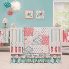New Mila The Peanut Shell 4 Pc Baby Bedding Crib Set Infant Nursery Girl Flower