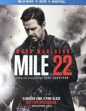 MILE 22(BLU-RAY+DVD+DIGITAL HD)W/SLIPCOVER NEW