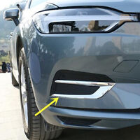 For VOLVO XC60 SUV Hatchback 2018 2019 Chrome Front Fog light lamp Cover Trim
