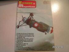 ** Histoire et Maquettisme n°3 Pak 43 / Panhard AMD 178 / autogire Lioré