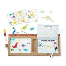 Melissa & Doug Play, Draw, Create - Dinosaurs Reusable Drawing Magnet Kit