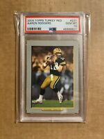 2005 AARON RODGERS TOPPS TURKEY RED ROOKIE RC 221 PSA 10 GEM MINT PACKERS