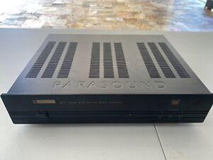 Parasound HCA-1000A 2 Channel Power Amplifier High Current Power Amplifier