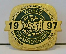 1997 Nssa National World Skeet Shoot Championships Award Pin San Antonio Tx Mtm