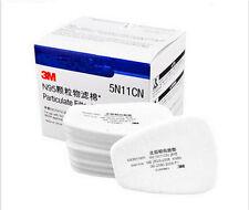 10pcs = 5N11 N95 Coton Filtre pour 3M 6100 6200 6800  Respirateur Masque à gaz